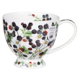 Wild Blackberries Skye Shape Mug