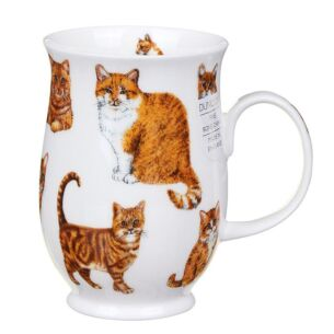 Cats Ginger Suffolk Shape Mug