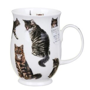 Cats Tabby Suffolk Shape Mug