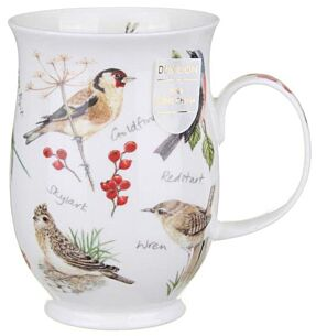 Dawn Song Goldfinch Suffolk shape Mug