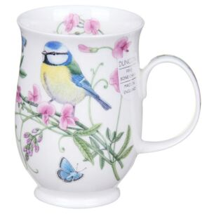 Hedgerow Birds Blue Tit Suffolk Shape Mug