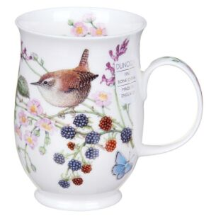 Hedgerow Birds Wren Suffolk Shape Mug