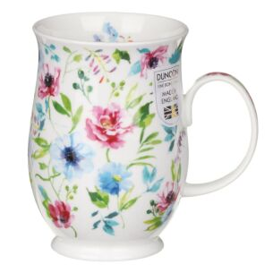 Fleurs Blue Suffolk Shape Mug