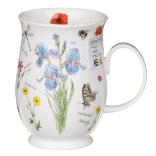 Nature's Notebook Iris Suffolk Shape Mug
