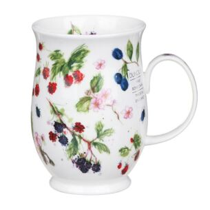Orchard Fruits Blackberry Suffolk Shape Mug