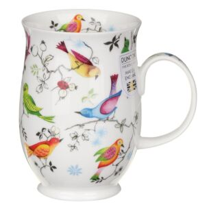 Paradise Birds Suffolk Shape Mug