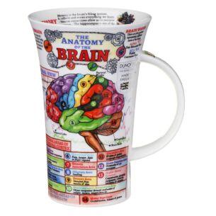 The Brain Glencoe Shape Mug