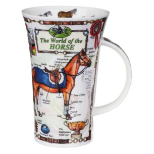 The World Of The Horse Glencoe shape Mug