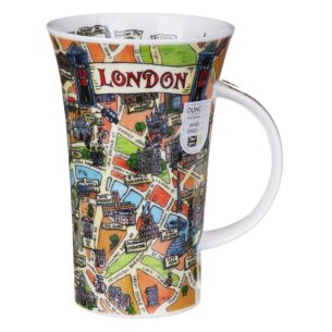 Tour Of London Glencoe shape Mug