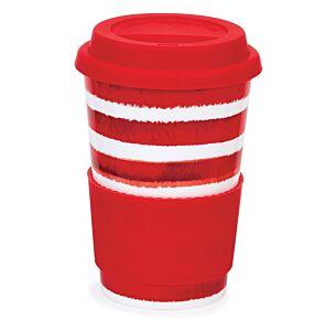 Hoopla! Red Travel Mug