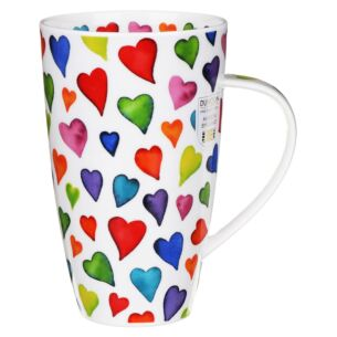 Warm Hearts Henley shape Mug