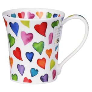 Warm Hearts Jura shape Mug
