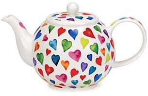 Warm Hearts Large Teapot