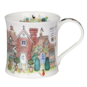Cottage Row Brick Wessex Shape Mug