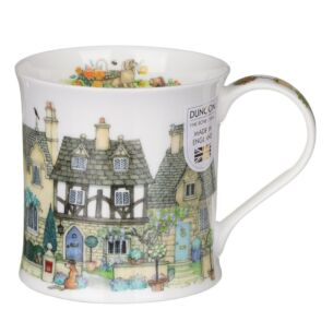 Cottage Row Stone Wessex Shape Mug