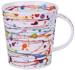 Drizzle Yellow Cairngorm Shape Mug