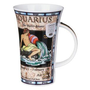 Zodiac Aquarius Glencoe shape Mug