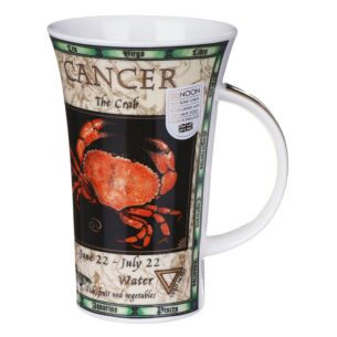 Zodiac Cancer Glencoe shape Mug