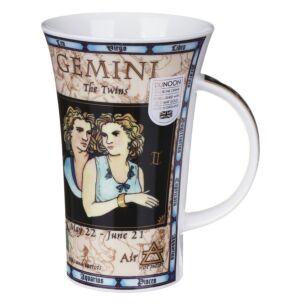 Zodiac Gemini Glencoe shape Mug