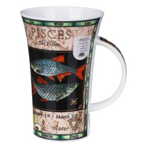 Zodiac Pisces Glencoe shape Mug
