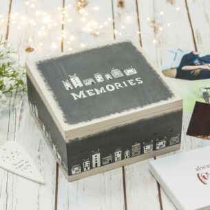'Memories' Keepsake Box