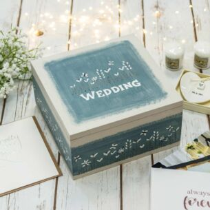 'Wedding' Keepsake Box