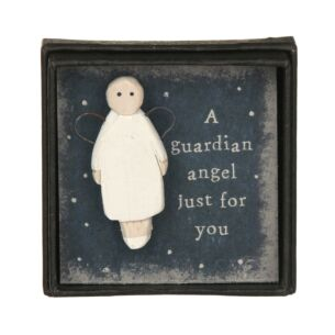 East of India Guardian Angel Lapel Pin
