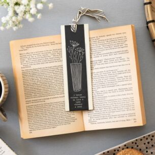 'A House Without Books' Bookmark