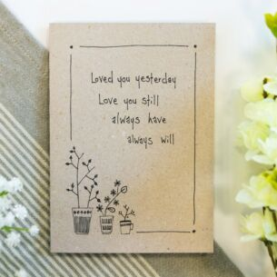 'Love You Still' Ink Card