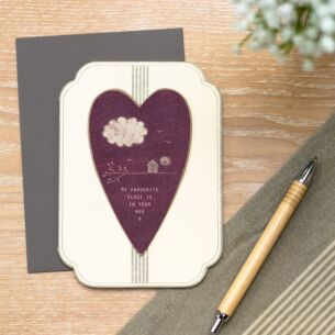 'My Favourite Place' Card