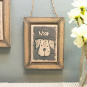 Dog Hanging Picture