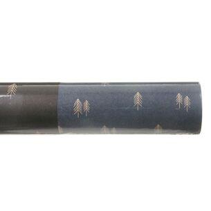 Navy Woodland Roll of Kraft Paper