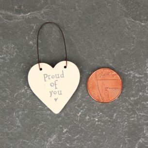'Proud Of You' 3cm Little Heart On Wire