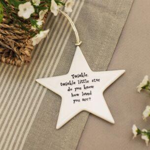 Twinkle twinkle… Porcelain Star