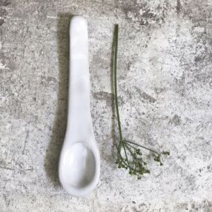 Wobbly Pottery Spoon