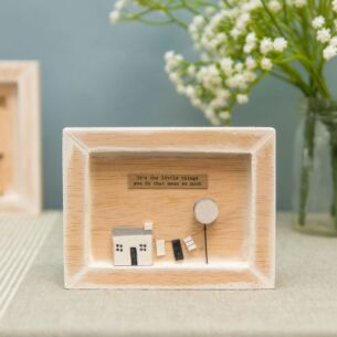 East of India 'It's The Little Things You Do' Box Frame