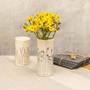 East of India Handpicked Porcelain Vase