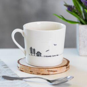 Bloody Love Tea Wobbly Porcelain Boxed Mug