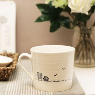 Bloody Love Tea Wobbly Porcelain Boxed Mug