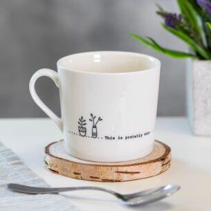 Probably Wine 'Wobbly' Porcelain Boxed Mug