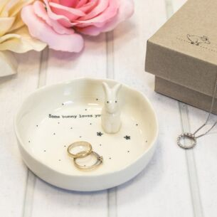 'Some Bunny Loves You' Boxed Jewellery Dish