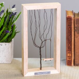 'Happy Place' Wire Tree Frame