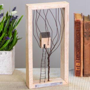 'Next Door' Wire Tree Frame