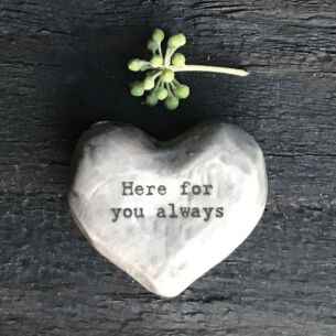 'Here For You Always' Heart Token