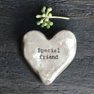 East of India 'Special Friend' Heart Token
