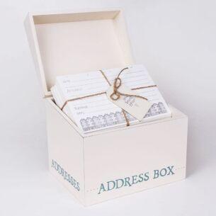 East of India Address Box