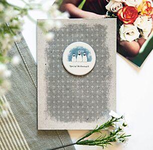 East of India 'Special Bridesmaid' Plaque Card