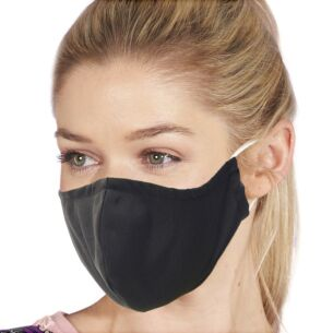 Eco Chic Black Recycled Face Cover