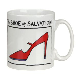 The Shoe of Salvation Mug