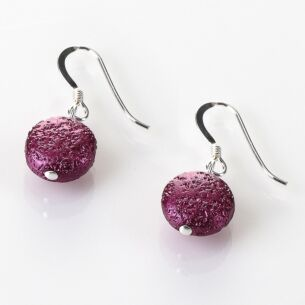 Cranberry Moons Earrings